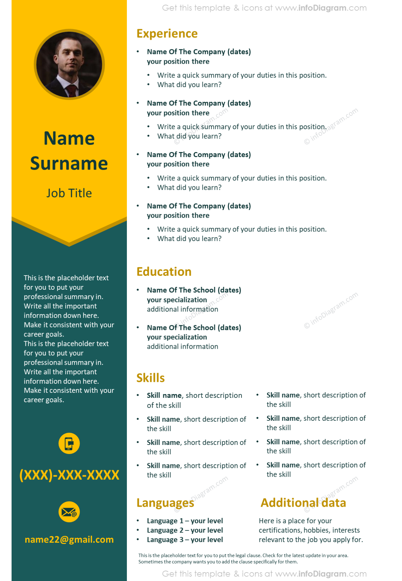 Pin On Cv Resume And Cover Letter Graphics