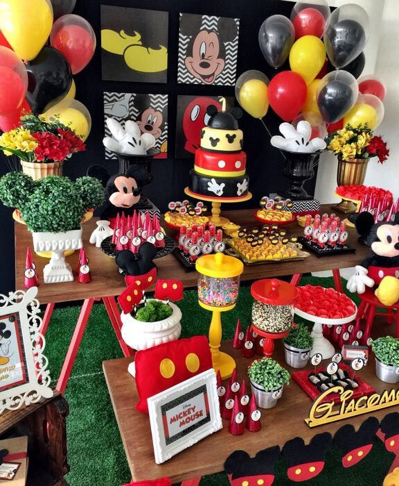 Mickey Mouse Birthday Party Ideas Mickey Mouse Clubhouse
