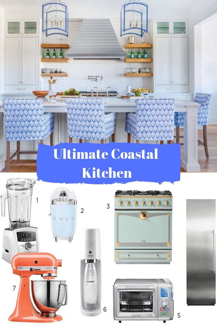 How To Style The Ultimate Coastal Kitchen Coastal Kitchen