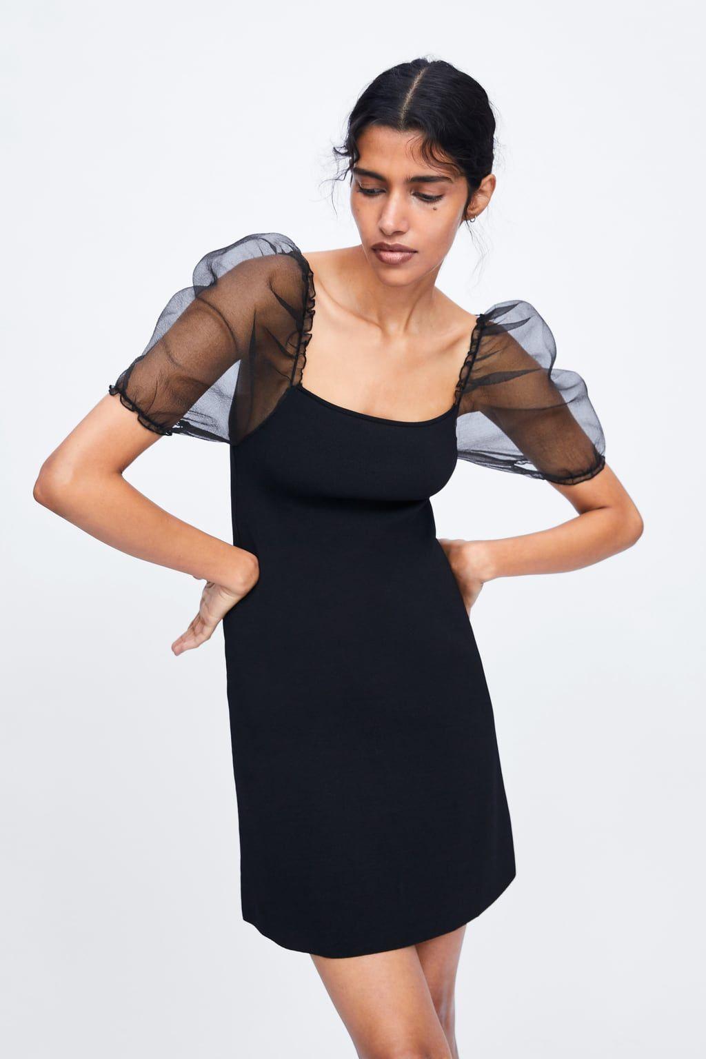 a6beb101 Balloon sleeve knit dress in 2019 | garments | Dresses, Knit dress ...