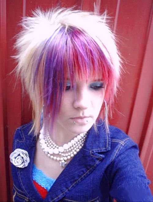 Emo Hairstyles for Girls with Short Hair and Bangs Images – New Hairstyles, Hair…