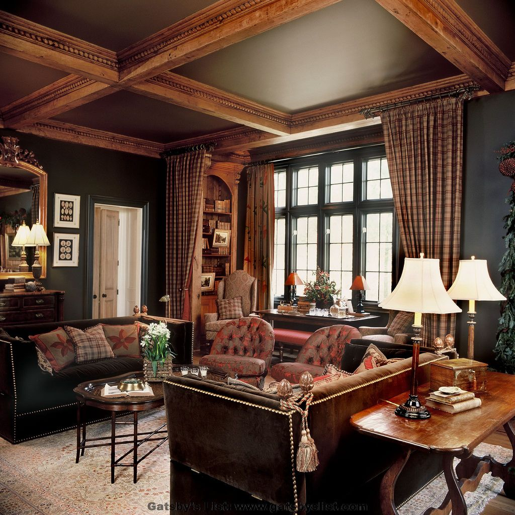 40 Cozy Small Living Room Ideas For English Cottage: Collinfield Hall Living Room
