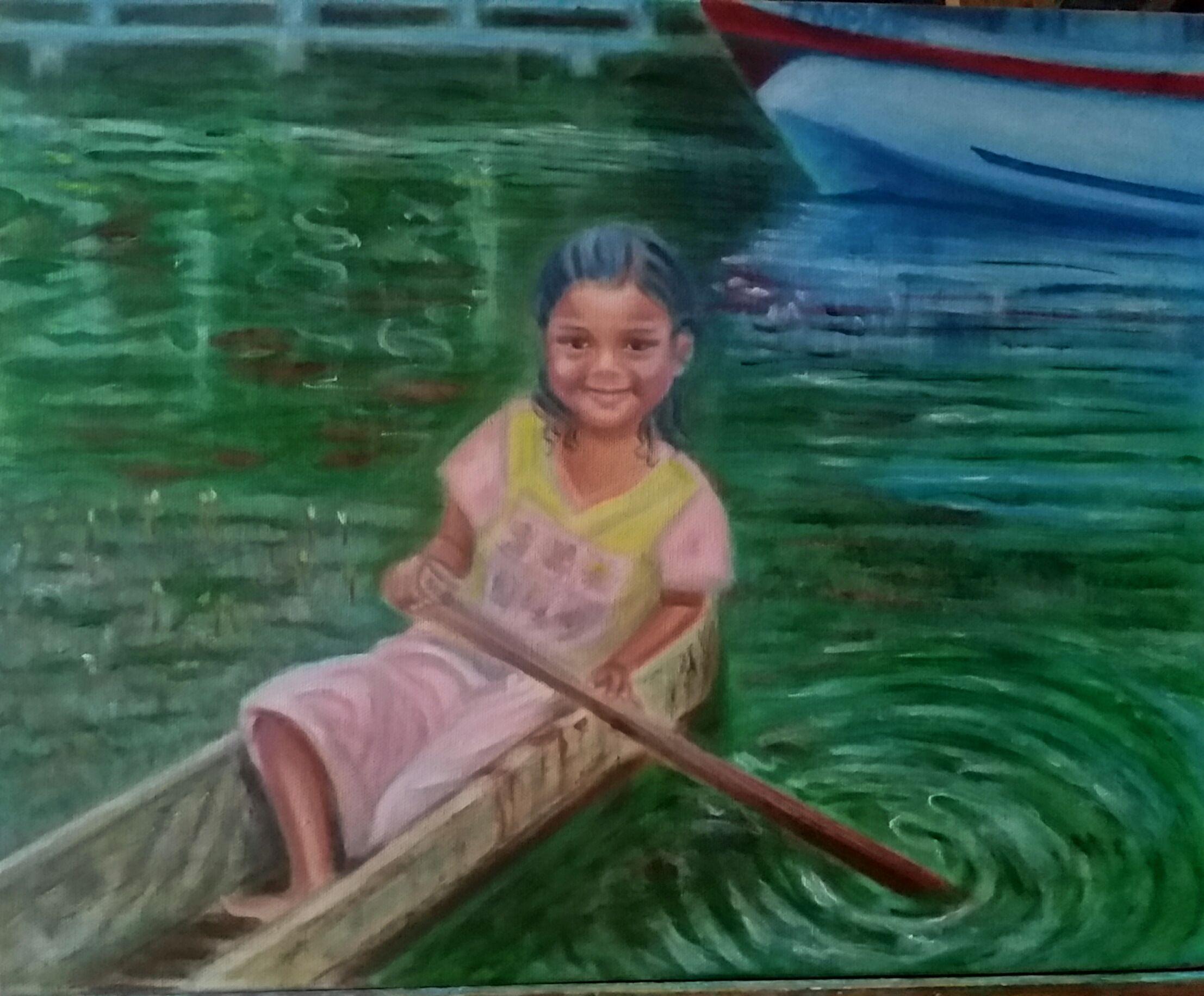 like painted I