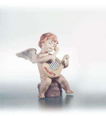 """Lladro Angel With Lyre """"Adagio"""" - Alpha Chi Omega"""