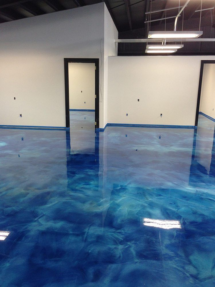 Metallic Floors Step By Step Instructions For Free Concrete