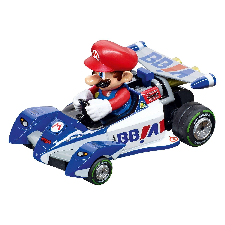 Met Deze Mariokart Raceauto Van Carrera Ben Je De Snelste Op De Baan Super Mario Racet Iedereen Eruit Klaar Voor De Start Af Ge Raceauto Mario Kart Carrera
