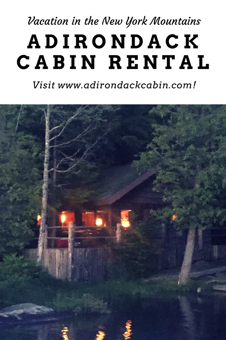 Waterfront Adirondack cabin and Bed & Breakfast in upstate