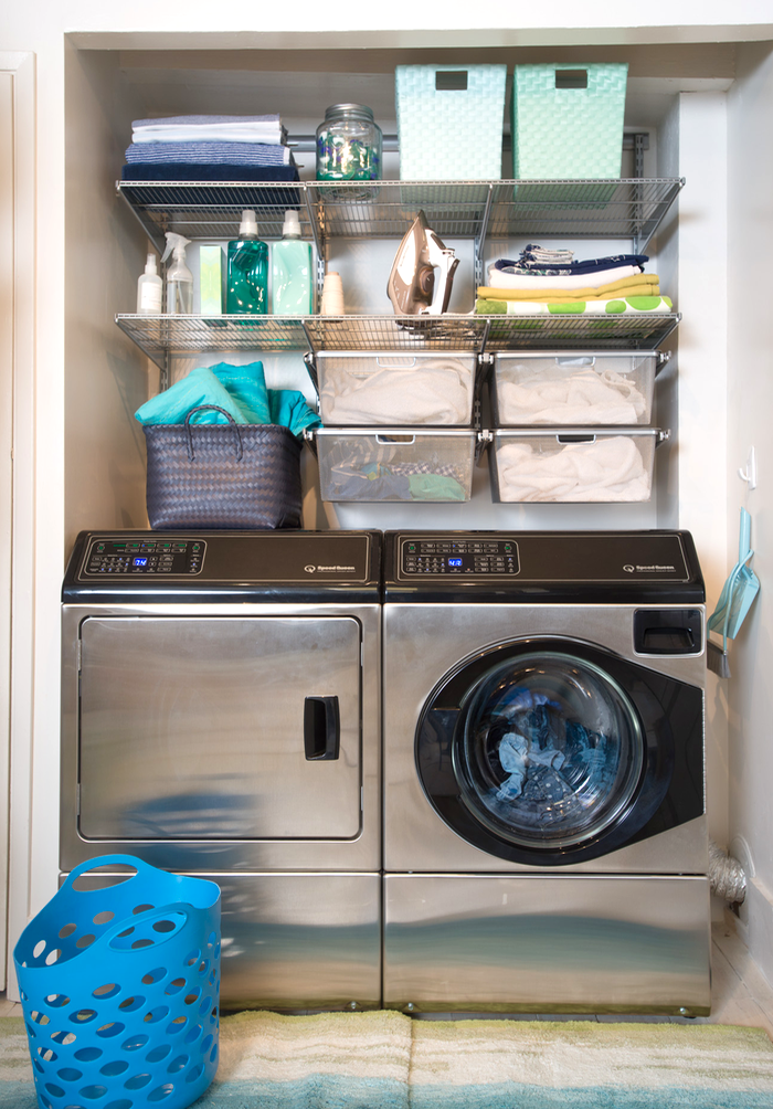 Small Laundry Room Ideas Make The Most Of A Small Space Small