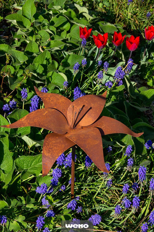Deko Blumen Fur Deinen Garten Deko Blumen Garten Garten Deko