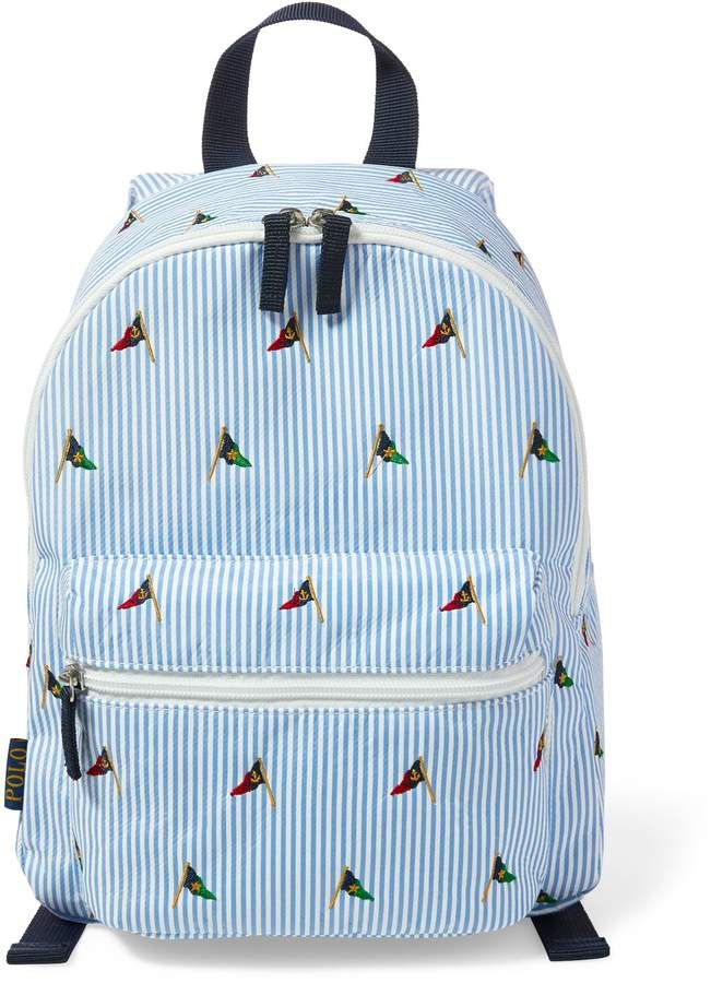 Ralph Lauren Embroidered School Backpack Products