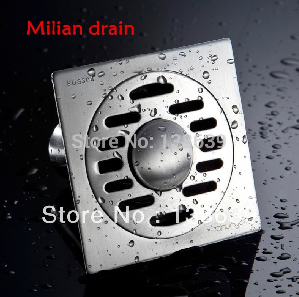 """24.16$  Watch here - http://alimwa.shopchina.info/go.php?t=32247356749 - """"Free shipping 3"""""""" Invisible floor drain odor pest top 304 grade stainless steel floor drain floor drain sus304"""" 24.16$ #aliexpressideas"""