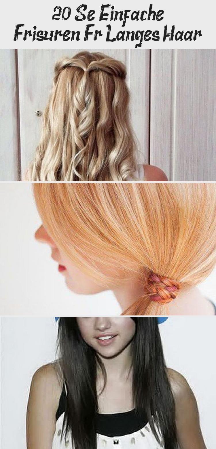 8 Süße Einfache Frisuren Für Langes Haar  Hair styles, Hair wrap