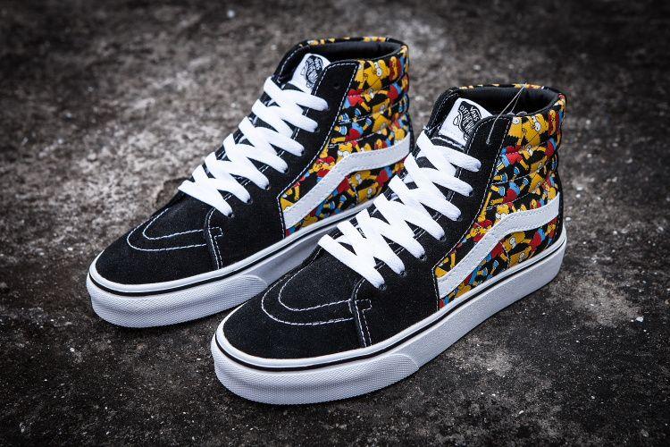 Bart Simpson vans #vans | Vans, Vans high top sneaker, Simpson