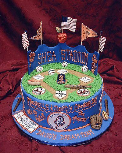 Mets Shea Stadium Cake Full Of History
