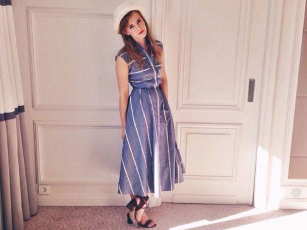 Emma Watson Makes An Ethical Fashion Statement Look Emma Watson Style Emma Watson Style Street Fashion