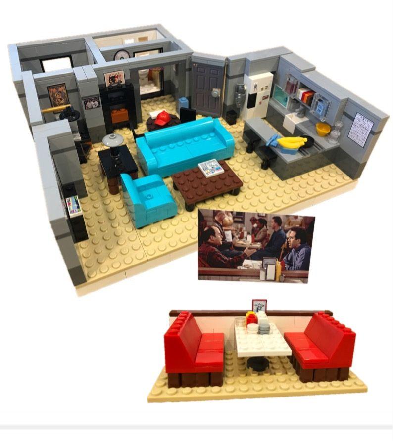 Seinfeld Lego Apartment