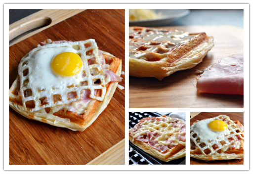 Your Waffle Iron Is Not Only Good For Waffles, But Also Good For This Open-Face Sandwich | DIY Tag
