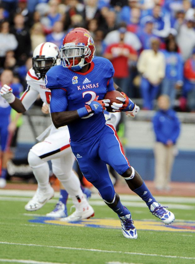 8d495a567 Kansas Jayhawks football uniforms--I liked this combo.
