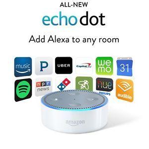 Details about Amazon Echo Dot 2nd White Alexa VoiceControl