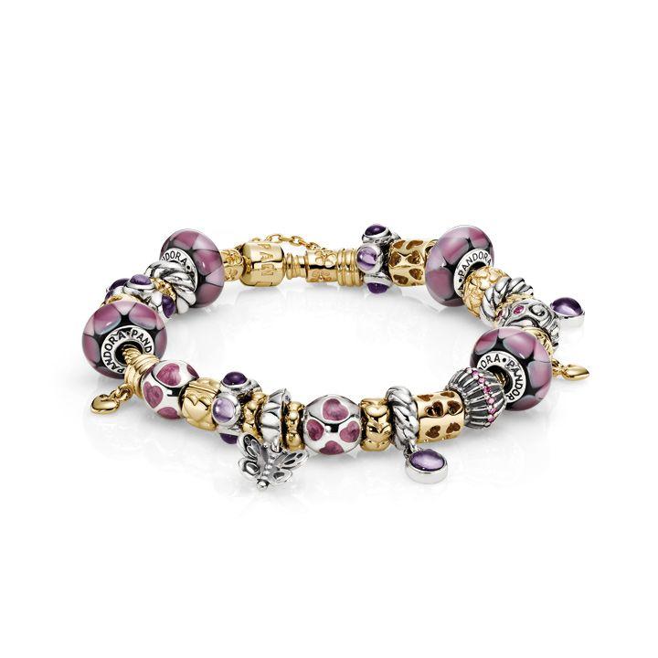 Pandora MOA - Lovely In Lilac Inspiration Bracelet (http://www.pandoramoa.com/lovely-in-lilac-inspiration-bracelet/)