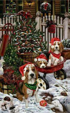 Christmas Beagle Clipart.Pin By Tim Bodine On Beagle Love Beagle Christmas Dog
