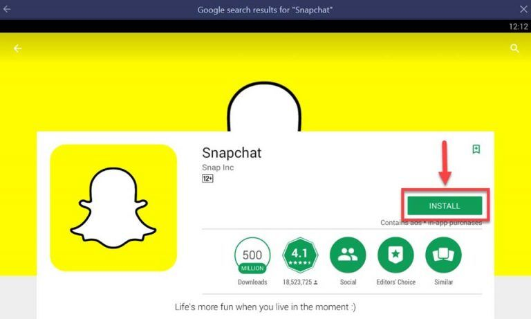 How To Download Snapchat On PC/Laptop (Windows 10/8/7 and Mac