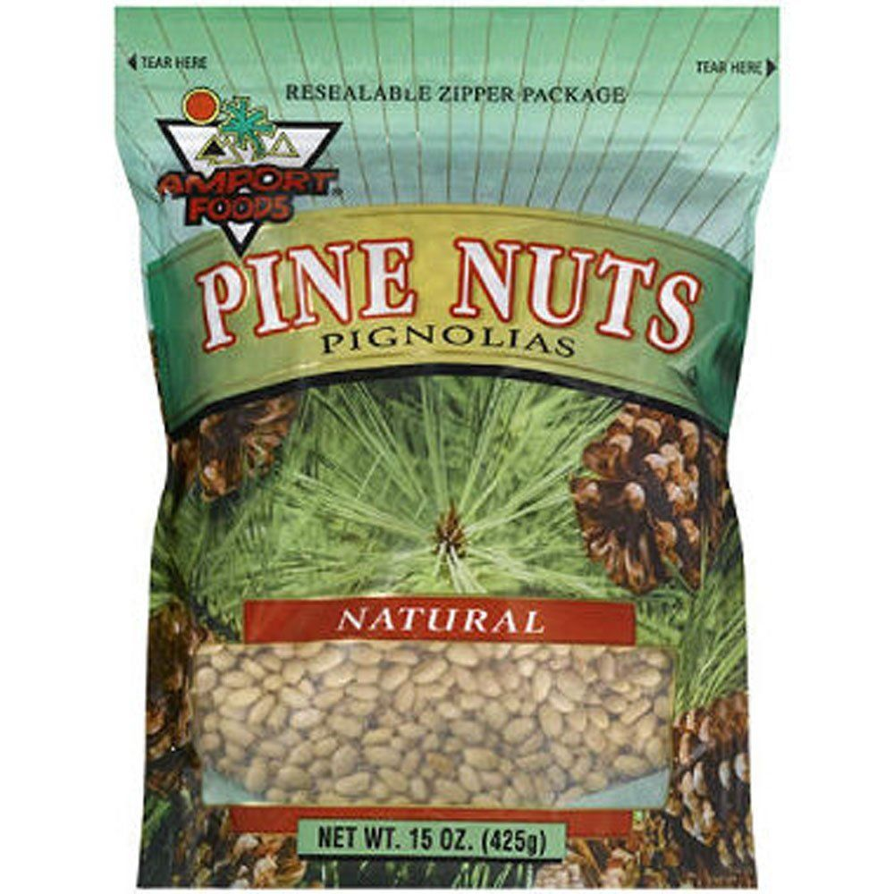 Amport® Foods Pine Nuts - 15oz * Click on the image for additional details.