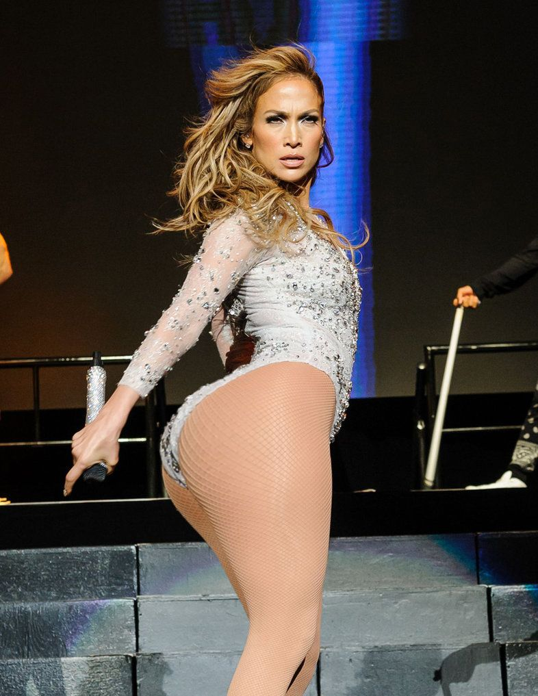 Ass Jennifer thong lopez butt