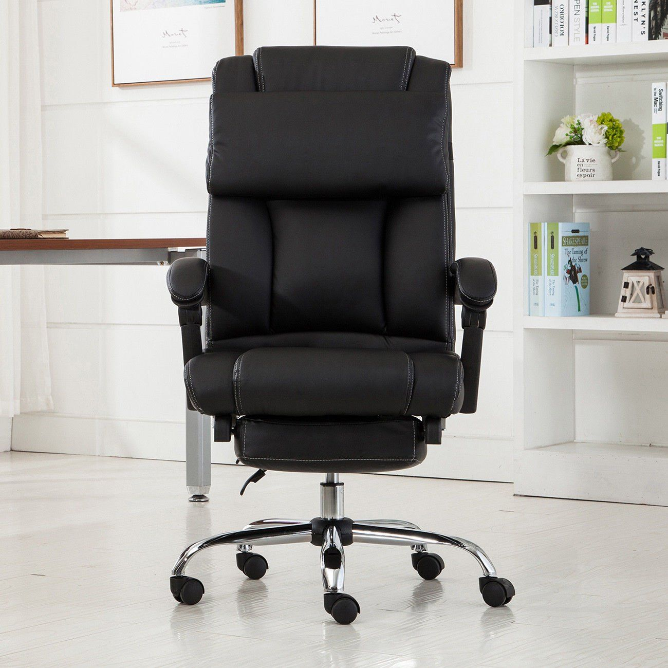 Eight24hours executive reclining office chair ergonomic