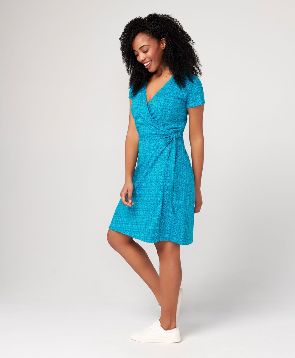 31808c01885fff Women's Super Soft Organic Cotton Wrap Dress | PACT Apparel | cotton ...