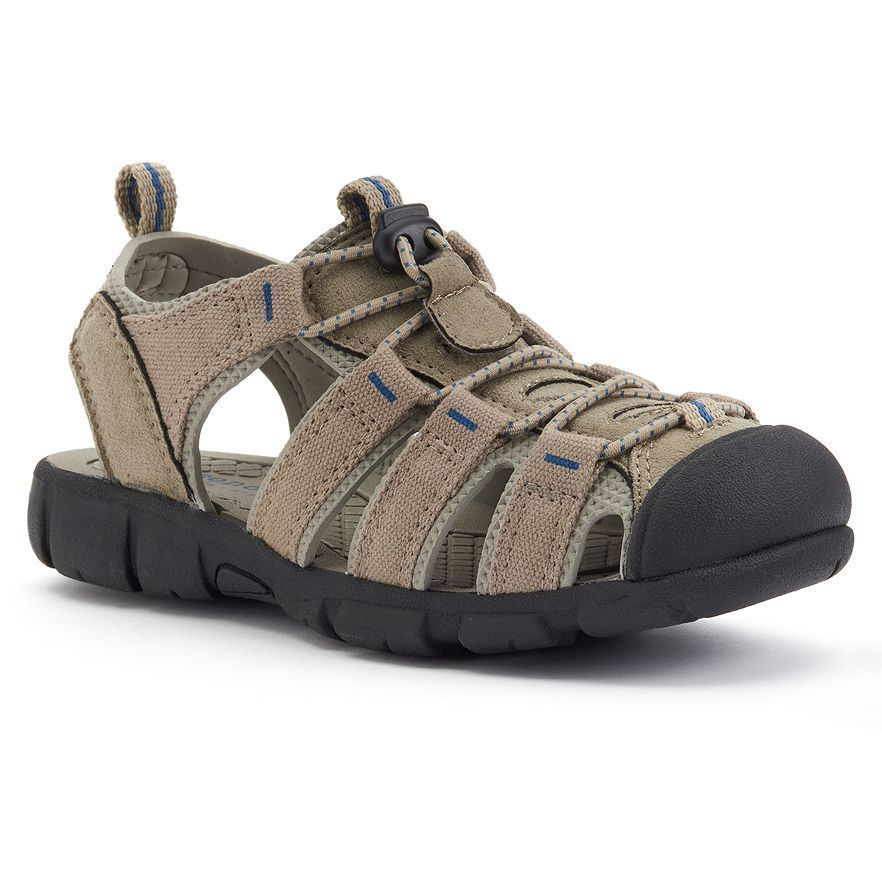 b697a226617 SONOMA Goods for Life Boys Sport Sandals Tan Kids size 3 NEW https