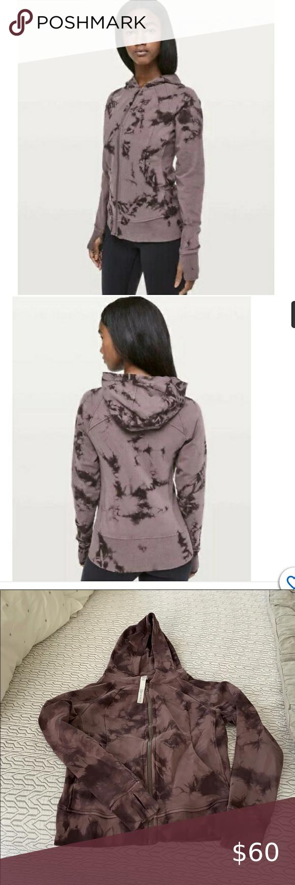 Lululemon Scuba Tie Dye Hoodie Tie Dye Hoodie Fashion Purple Tie Dye [ 1740 x 580 Pixel ]