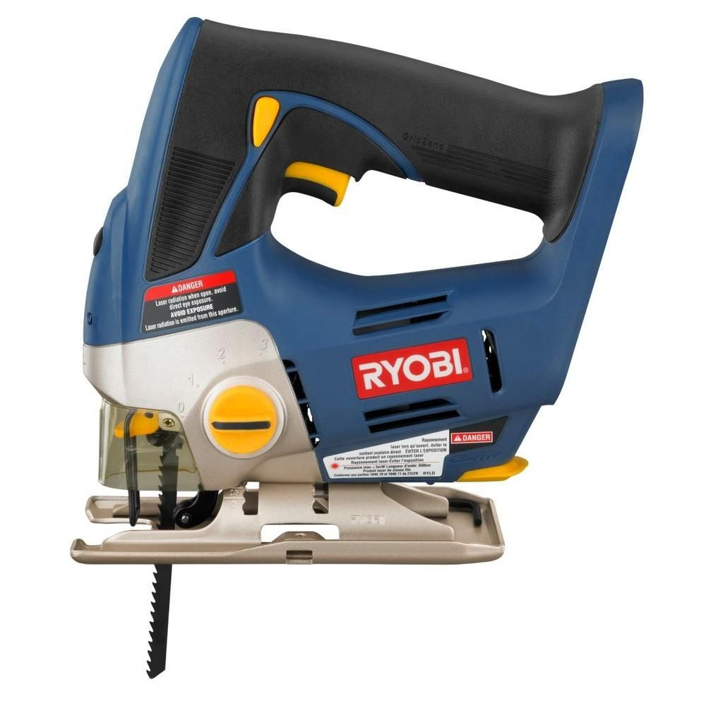 Ryobi 18 volt one orbital jig saw tool only greentooth Choice Image