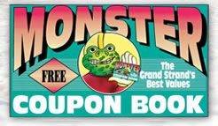 Lazy Gator Is In The Monster Coupon Book Voted Best Myrtle Beach Ping At