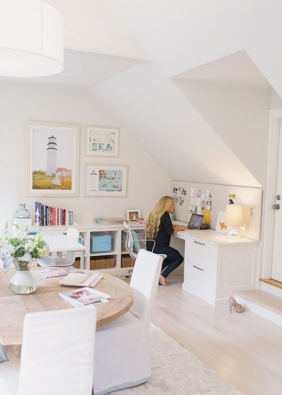 Inspiring Home Office With Large Light House Photograph Love The - Large round office table