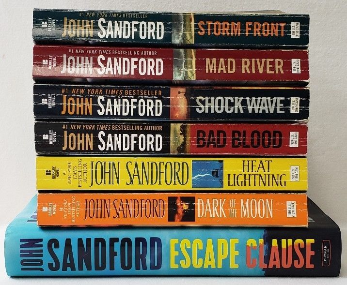 Shock Wave - Kindle edition by Sandford, John. Mystery ...