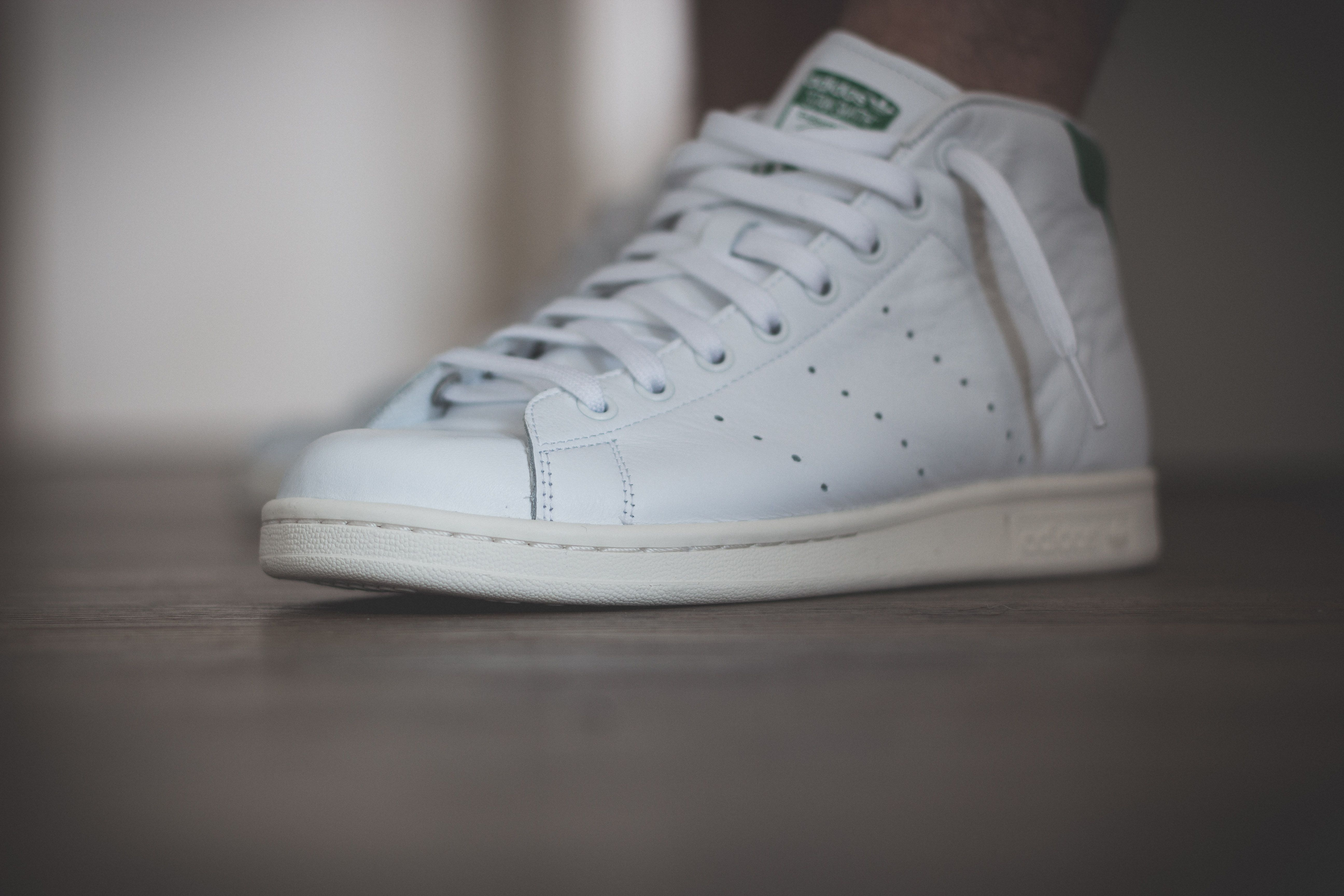 adidas Originals Stan Smith Mid - White Green Review