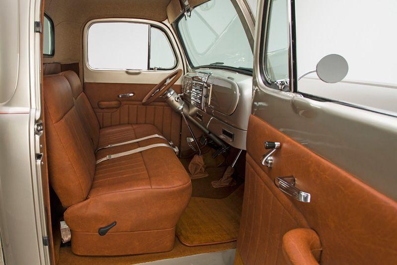 1949 Ford F1 Pickup Truck Muted Custom Trucks Truck Interior Pickup Trucks