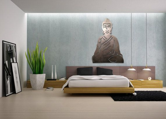 Feng Shui Bedroom. Giant Metal Buddha | Home Decor | Bedroom ...