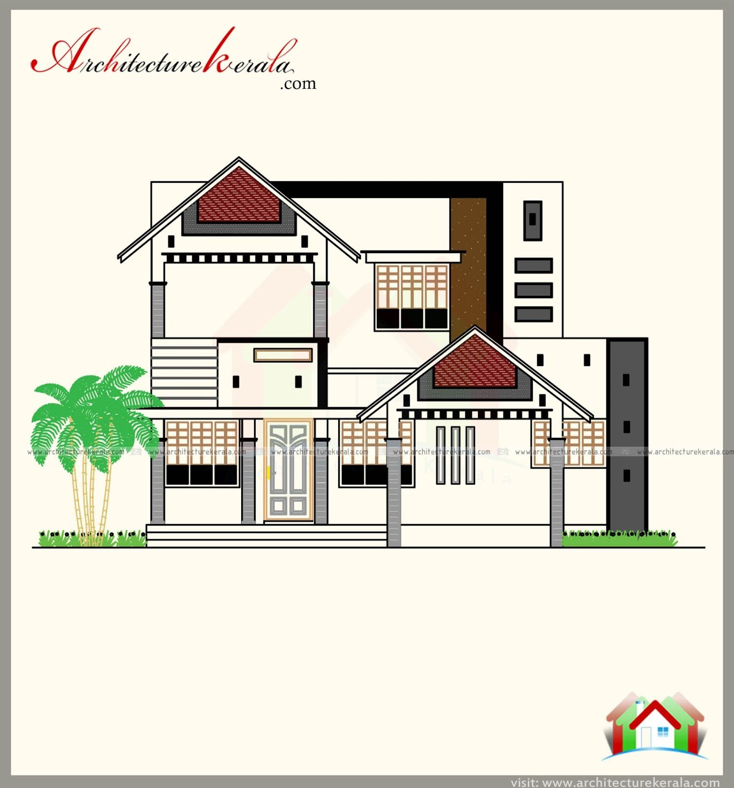 1500 Sq Ft House Plan Elevation