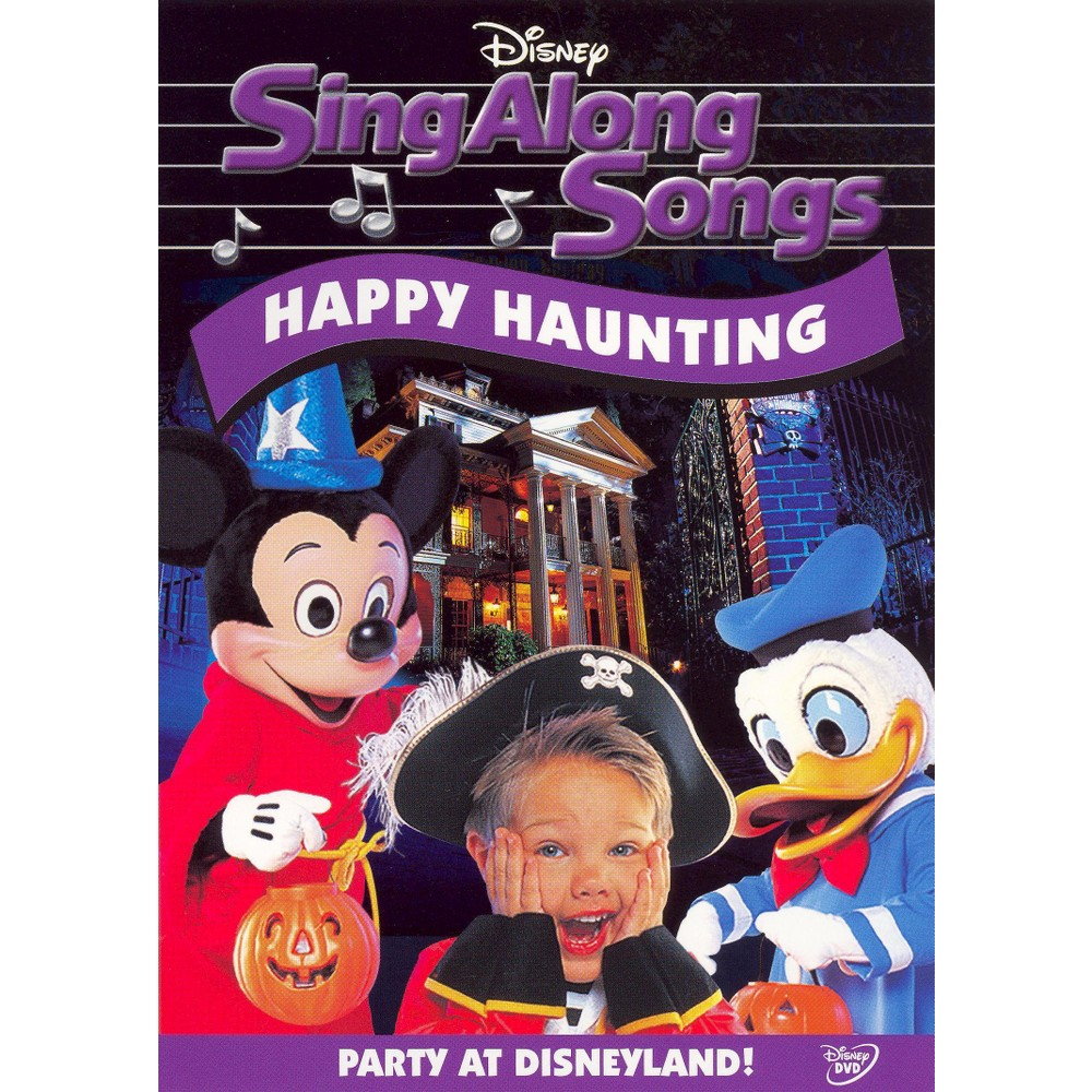 Disney's Sing Along Songs Happy Haunting Party at