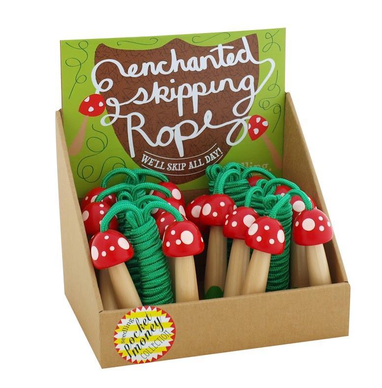 Mushroom Jump Rope   Mushroom crafts, Stuffed mushrooms ...