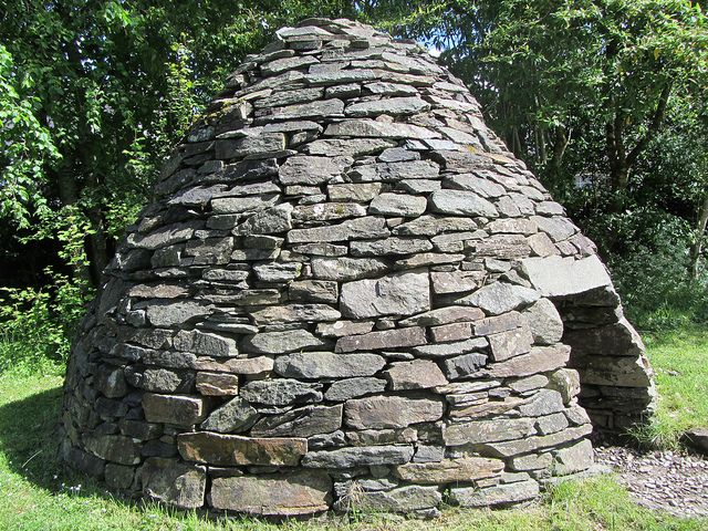 Kilmartin Museum Reconstructed Beehive Monk's Cell IMG_0749 by dajavous, via Flickr