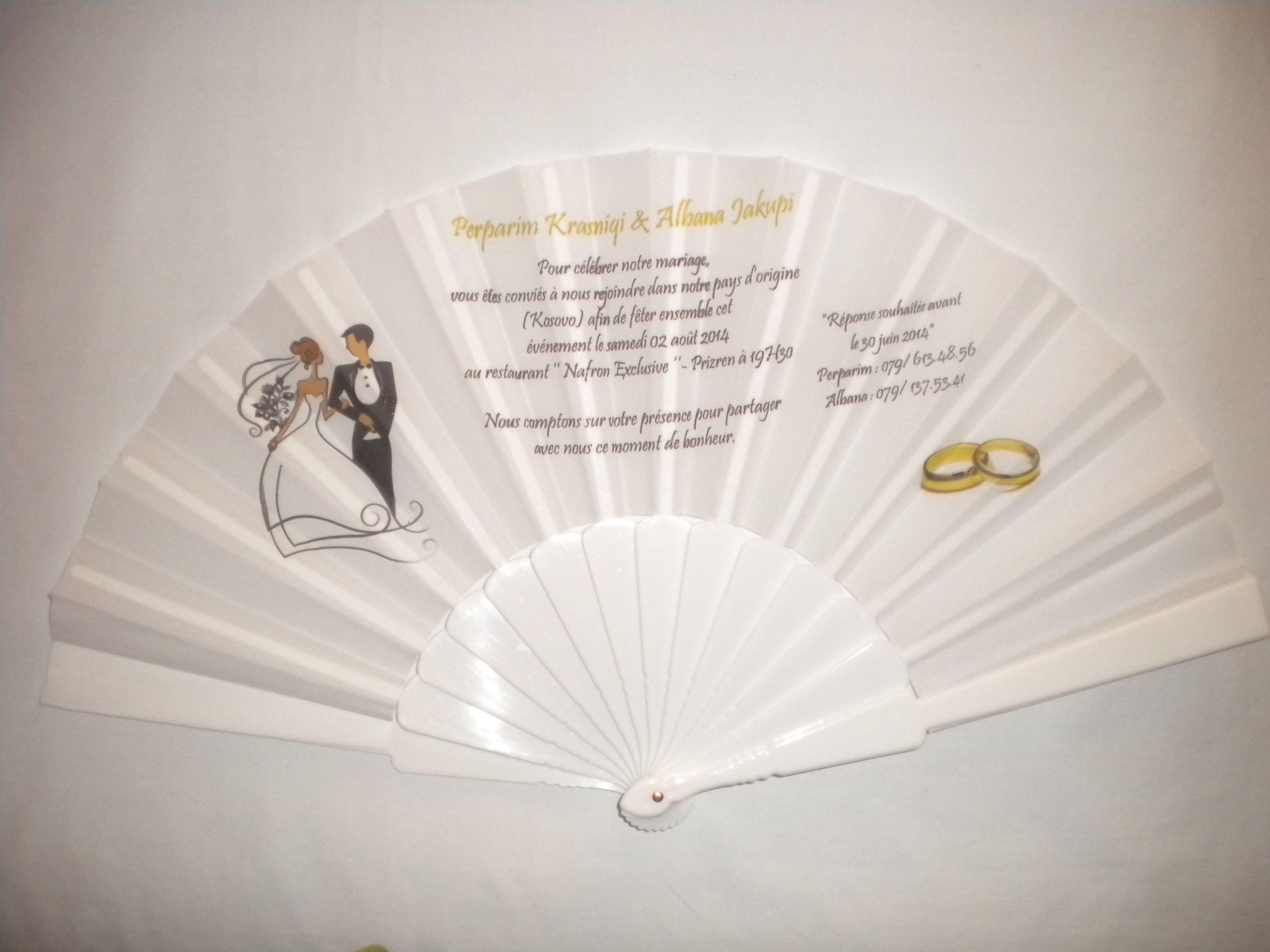 Abanicos de bodas.Abanico de boda personalizado.Invitación de boda ...