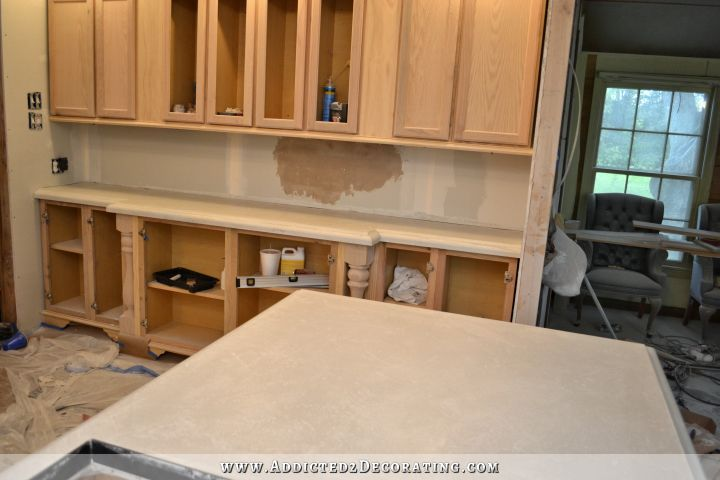 DIY Concrete Countertops (Finishing Steps & Total Cost
