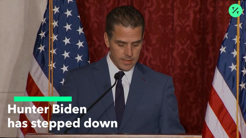 Hunter Biden Steps Down From Chinese Board As Trump Attacks The Trump Organization Trump Wins Joe Biden