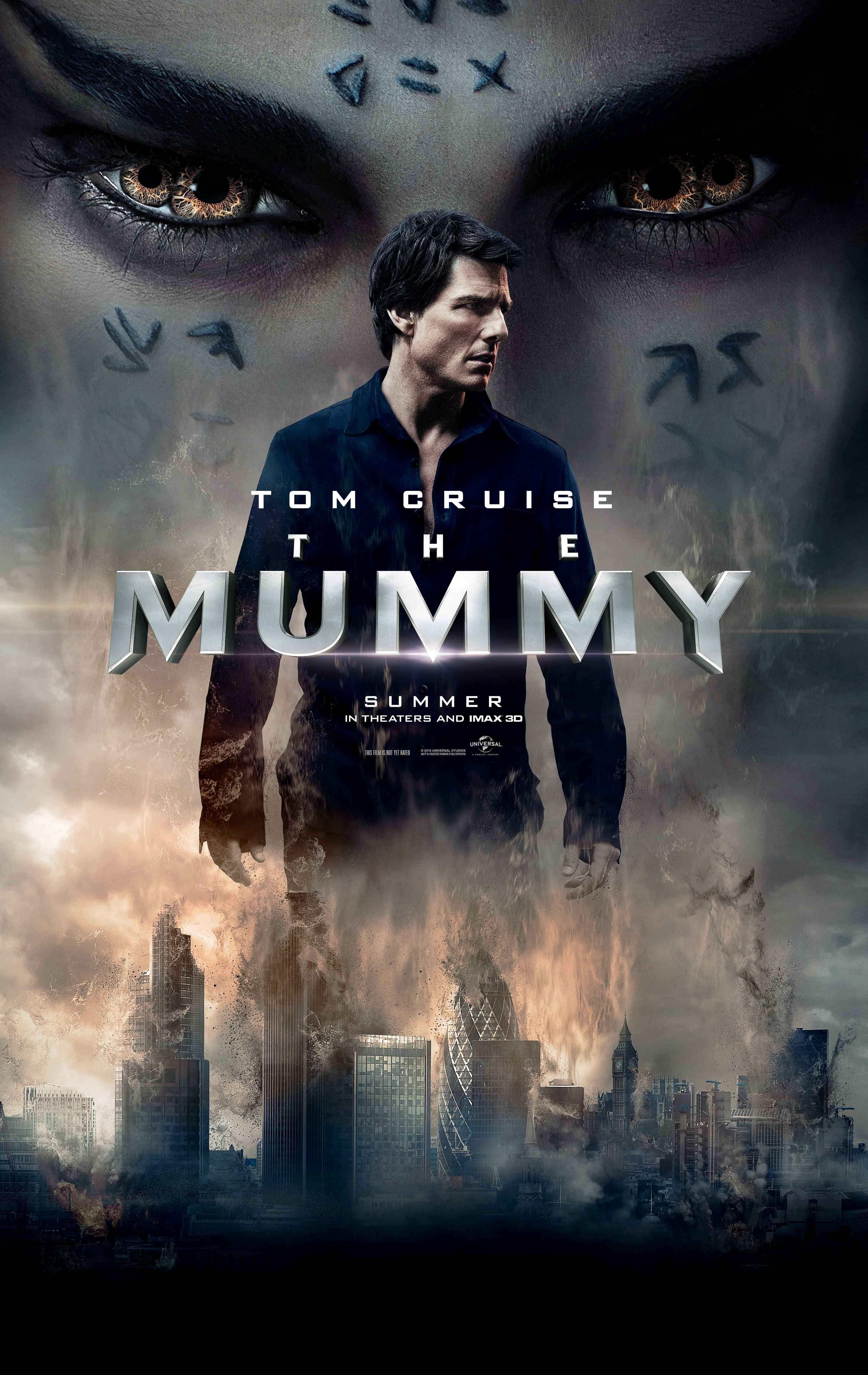 A Mumia Novo Poster Mostra Seus Olhares Sob Tom Cruise Com Imagens Filmes Filmes De Terror Filmes Baixar