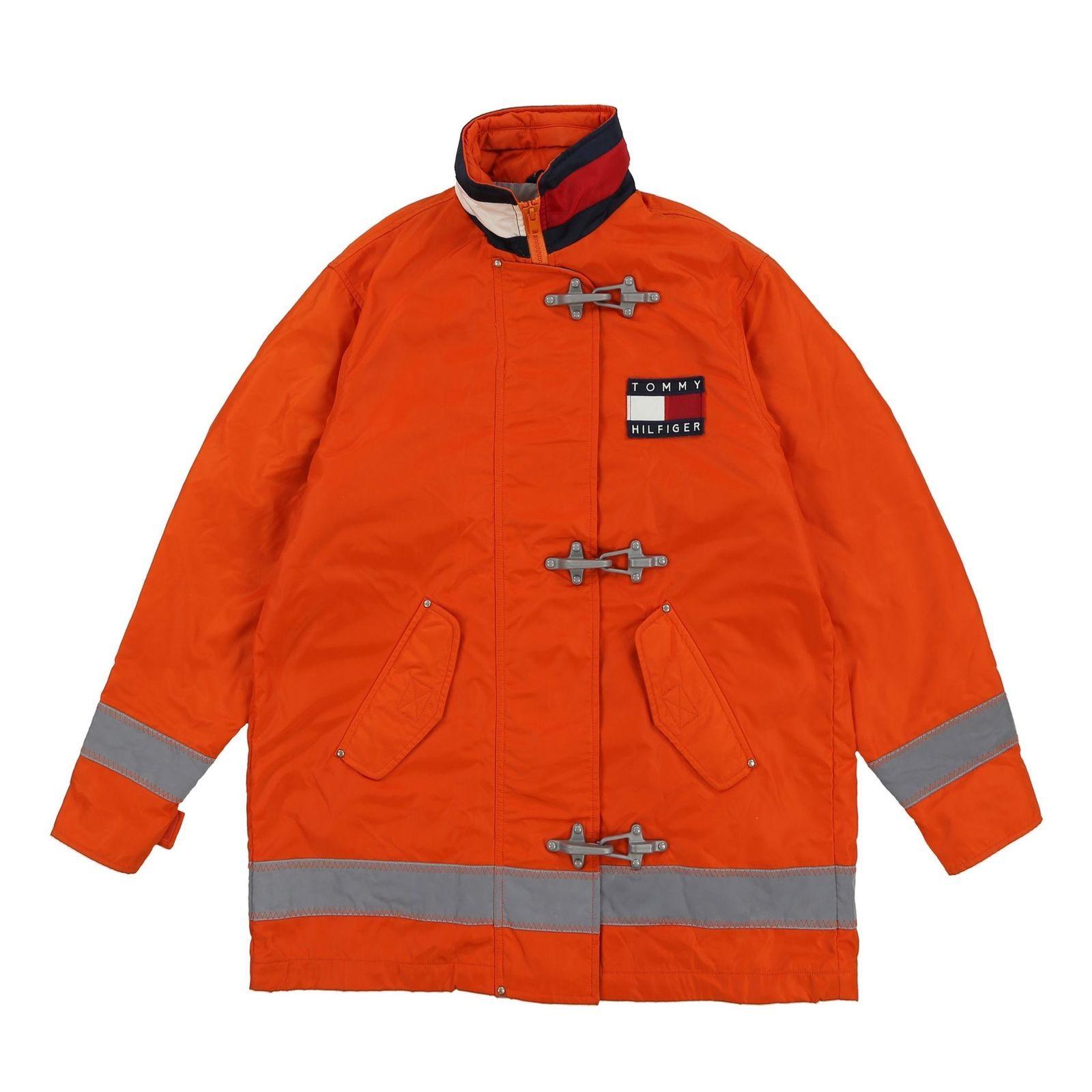 Vintage Tommy Hilfiger Reflective Fireman Clasp Jacket Ebay [ 1600 x 1600 Pixel ]
