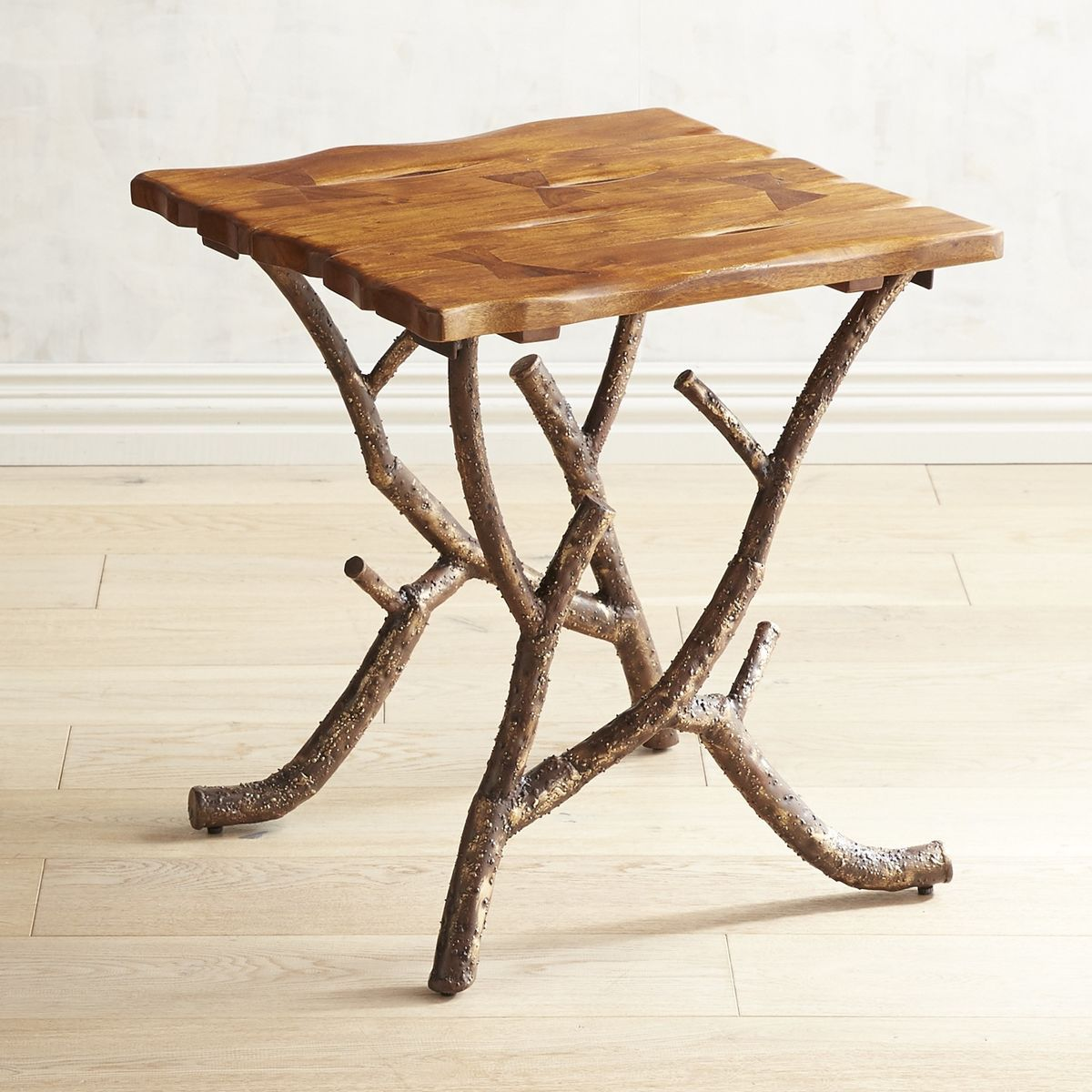 Cortez End Table Pier 1 Imports Natural Wood Table End Tables