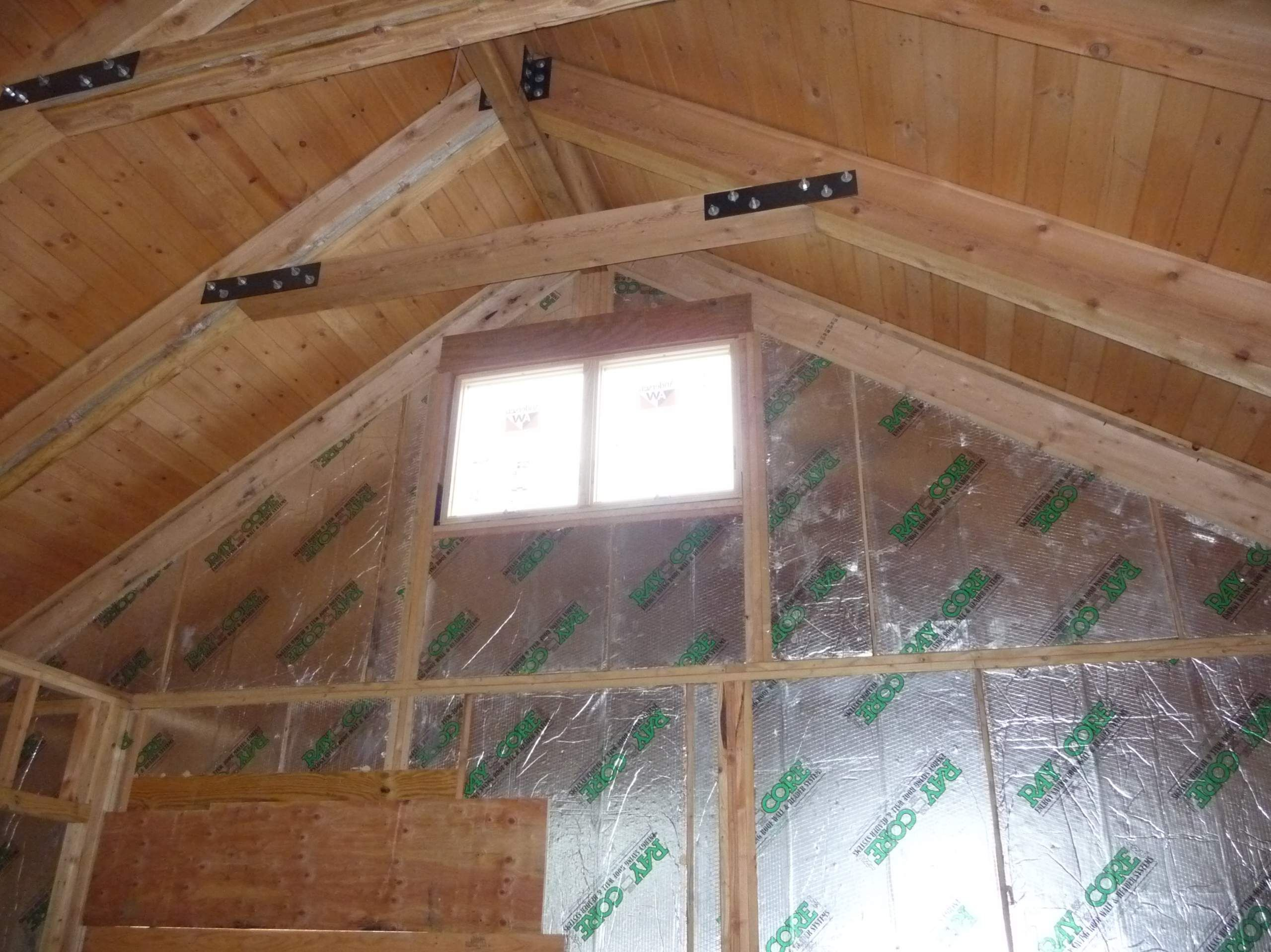 Cabin Ceilings Support Beams Bing Images Open Ceiling Panels